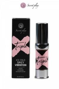 Triple X Vibration Stimulant Unisex 15ml Secret Play IM#79420