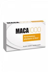 Aphrodisiaque Maca 1000 (60 gélules) Nutri Expert IM#79556