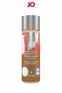 Lubrifiant Comestible Cheesecake Fraise 60 ml System JO IM#80321