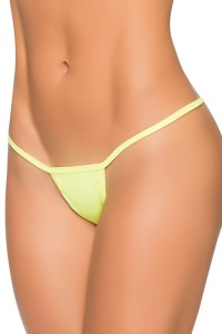 String TAILLE L/XL Ficelle Y Wetlook Vert Mapalé