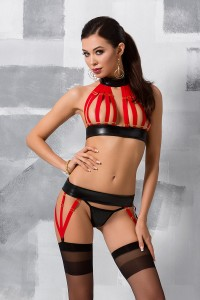 Ensemble Fetish Strappy Aziza Passion