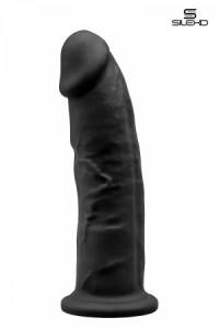Gode Double Densité Noir 22,5 cm SilexD IM#81264