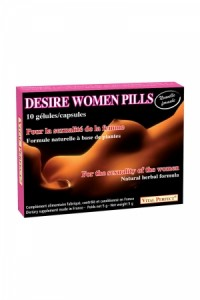 Desire Women Pills (10 gélules) Vital Perfect