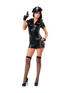Costume Police Sexy CombiShort 6 Pièces Le Frivole IM#81474