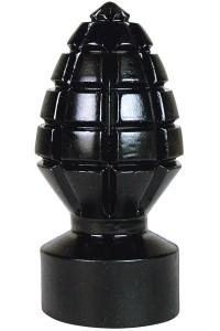 Plug Anal Géant Grenade Noir Belgo-Prism