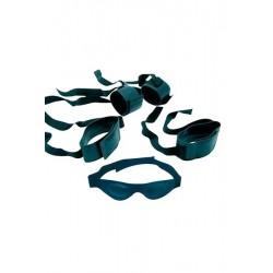 Kit Ultimate Bondage Menottes Masque