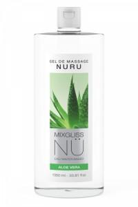 Gel Massage Nuru Aloe Vera Mixgliss 1 Litre Mixgliss
