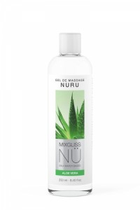 Gel Massage Nuru Aloe Vera Mixgliss 250 ml Mixgliss