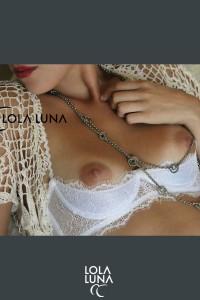 Soutien Gorge Demi Sein Nus Milena Blanc Lola Luna Lola Luna