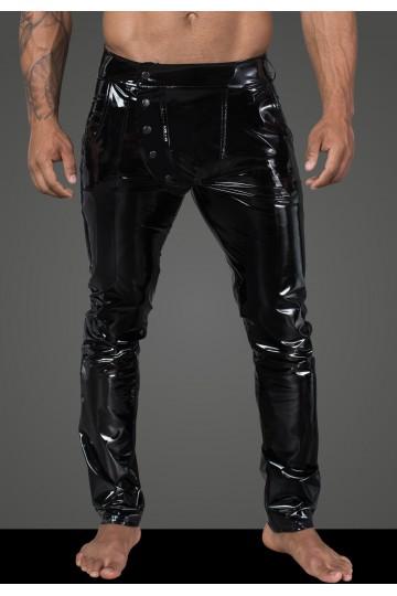 Pantalon Vinyle Fetish Homme Noir HandMade