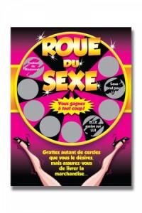Carte à Gratter Roue du Sexe Ozzé
