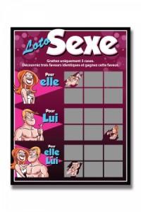 Carte à Gratter Loto Sexe Ozzé