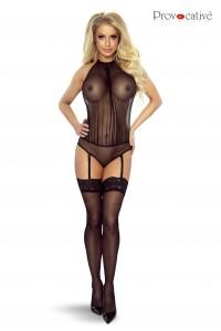 Body Transparent Jarretelles Amovibles Provocative