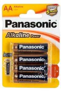 Boîte de 4 piles LR6 AA FunSex