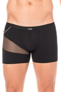 Boxer Noir Filet et Corde LOOK ME