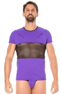 T-Shirt Violet Filet LookMe