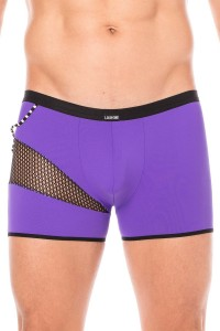 Boxer Violet Filet et Corde LookMe
