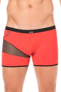Boxer Rouge Filet et Corde LookMe