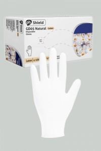 100 Gants Chirurgicaux Latex Blanc Mister B