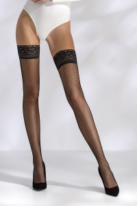 Bas Résille AutiFixants Noir Passion ST018 Passion bas et collants