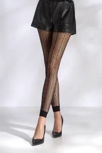 Leggings Sexy Noir Passion Résille Passion bas et collants
