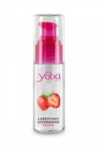 Lubrifiant Parfum Fraise 50ml Yoba