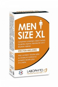 Men Size XL 60 Gélules Labophyto