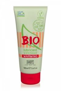 Lubrifiant Végan HOT BIO Warming 100 ml HOT